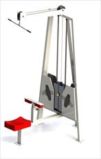 دستگاه بدنسازی مدل شده در سالیدورک