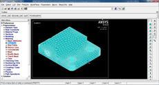 پکیج مدل سازی قطعه مهندسی در نرم افزار انسیس