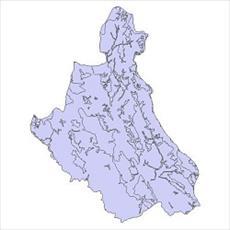 نقشه کاربری اراضی شهرستان خلخال