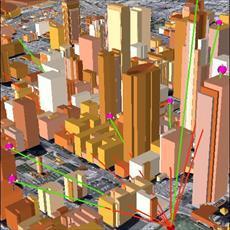 سه بعدی سازی داده های مکانی SPATIAL 3D