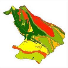 نقشه زمین شناسی شهرستان مهران