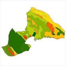 نقشه ی زمین شناسی شهرستان چادگان